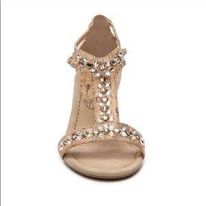 e45805af2905 New York Transit Shoes - NEW YORK TRANSIT FANCY JEWELS WEDGE SANDAL